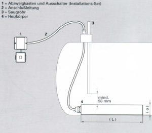 elektratherm tankheizung tankheizer th370 th372 th220 diesel heizoel 220w 1500w