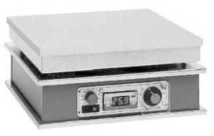 heizplatte praezisionsheizplatte elektrisch labor werkstatt regelbar leistungssteller dauerbetrieb stufenlose Leistungsregelung elektronische regelung