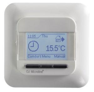 thermostat raumthermostat programmierbar uhrenthermostat heizluefter elektrisch industrie werkstatt hallenheizung wandmontag
