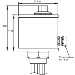 elektratherm einschraubheizkoerper kappe g